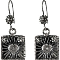 Sun Style!! 925 Sterling Silver Earrings