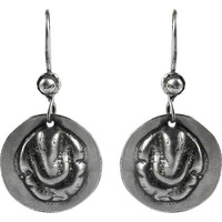 925 Sterling Silver Lord Ganesh Earrings