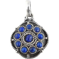 Cloud Song! Lapis 925 Sterling Silver Pendants