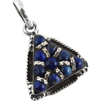 Corrico Lake! Lapis 925 Sterling Silver Pendants
