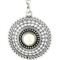 Big Excellent! Pearl 925 Sterling Silver Pendants