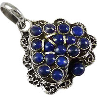 High Work Quality !! 925 Sterling Silver Lapis Pendant