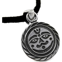 Moon Design!! 925 Sterling Silver Pendant