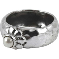 Fantastic Quality Of! 925 Silver Pearl Ring