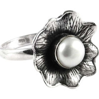 Draditions! 925 Silver Pearl Ring