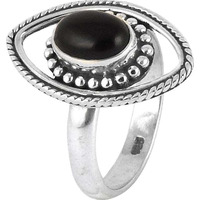 Fabulous!! Black Onyx 925 Sterling Silver Rings