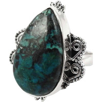 Excellent! Azurite 925 Sterling Silver Rings