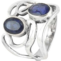 Breathtaking !! Iolite 925 Sterling Silver Ring