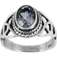 Royal! Amethyst 925 Sterling Silver Ring