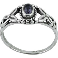 Natural!! Amethyst 925 Sterling Silver Ring