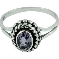 Fantastic !! Amethyst 925 Sterling Silver Ring