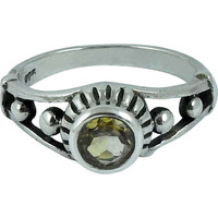 Big Secret Created! Citrine 925 Sterling Silver Rings