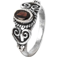 High Work Quality !! Garnet 925 Sterling Silver Ring
