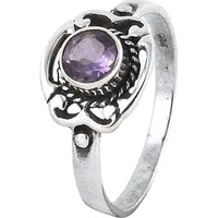 Exclusive !! Amethyst 925 Sterling Silver Ring