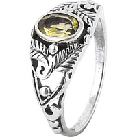 Big Dreamer ! Citrine 925 Sterling Silver Ring
