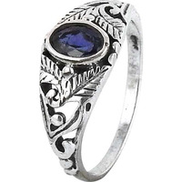 Chunky!! Iolite 925 Sterling Silver Rings