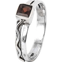 Fabulous! Garnet 925 Sterling Silver Ring