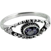 Pale Beauty ! Amethyst 925 Sterling Silver Ring