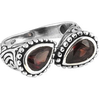 Big Love's Victory!! Garnet 925 Sterling Silver Rings