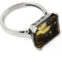 Big Dreamer!! 925 Sterling Silver Citrine Ring