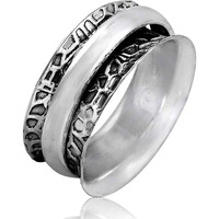 Modern Style ! 925 Sterling Silver Ring