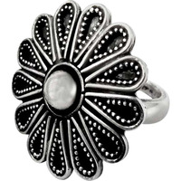 Beautiful!! Rava Work 925 Sterling Silver Ring