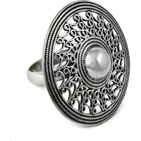 Artisan Work!! 925 Sterling Silver Ring