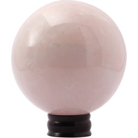 Shivacrystal reiki Aura Healing natural gemstone rose quartz sphere ball