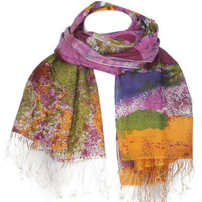 Women's Silk Scarf L ...