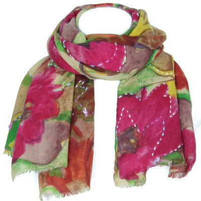 Women's Wool Scarf G ...