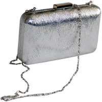 Chic silver, sparkly ...