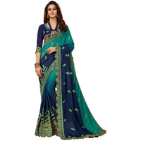 Manohari Blue Embroi ...
