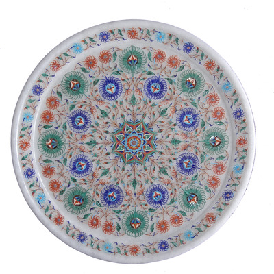 White Marble Plate ...