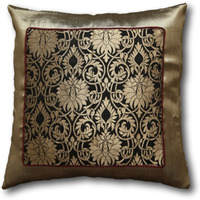 Silk Brocade Pillow ...