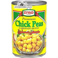 Ziyad Boiled Chickpeas (Garbanzo) (15.5 oz can)