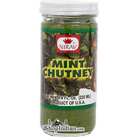 Nirav Mint Chutney (7.74 oz bottle)