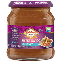 Patak's Sweet Mango Chutney (12 oz bottle)