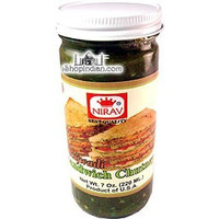 Nirav Rajwadi Sandwich Chutney - Hot (7 oz bottle)