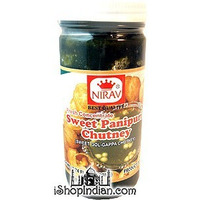 Nirav Pani Puri Concentrate - Sweet (7.74 oz bottle)
