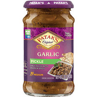 Patak's Garlic Relish / Pickle (10 oz bottle)