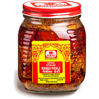 Nirav Extra Hot Mango Pickle (2 lbs bottle)