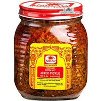 Nirav Extra Hot Mixed Pickle (2 lbs bottle)