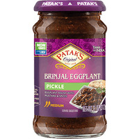 Patak's Brinjal (Eggplant) Pickle / Relish (11 oz bottle)