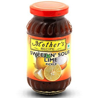 Mother's Recipe Sweet 'N' Sour Lime Pickle (17.64 oz jar)