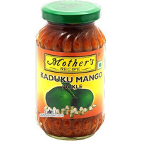 Mother's Recipe Kaduku Mango Pickle (10.5 oz bottle)