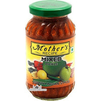 Mother's Recipe Mixed Pickle (South Indian Style) (10.5 oz bottle)