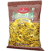 Haldiram's Hara Chiwda Snack Mix (14 oz bag)