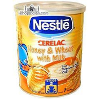 Nestle Cerelac - Honey, Wheat & Milk (400 gm can)