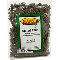 Bansi Salted Amla (Dry Indian Gooseberry Pieces) (7 oz bag)