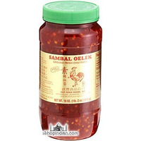 Sambal Oelek Chilli Paste (18 oz bottle)